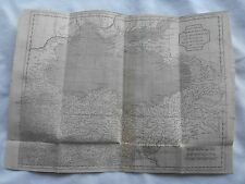 RARE ANCIENT HISTORY MAP-MADE BY MR.D'ANVILLE-1740-ASA MINOR & THE EUXIN SEA