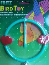 Fritz Bird Toy Parakeets, Canaries & Other Small Birds Great For Exercise *New*