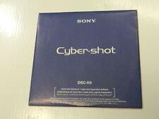 New listing New Oem Genuine Sony Software Cd for CyberShot Dsc-H3 - Ver.2.1.02