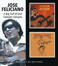 Jose Feliciano A Bag Full Of Soul/Fantastic Feliciano CD NEW SEALED Remastered