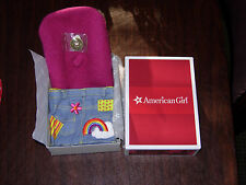 NIB American Girl~ Ivy's Meet Accessories~ Purse Coin Beret - NO Earrings Julie