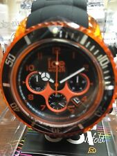 ICE WATCH CHRONO BLACK / ELECTRIC ORANGE BIG BIG WATCH NEW