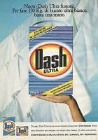 X2698 Nuovo Dash Ultra fustone - Pubblicità 1991 - Advertising