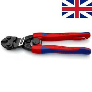 KNIPEX CoBolt® 200mm Mini Bolt Cutters 71 32 200 T (7132200 with Tether) UK1