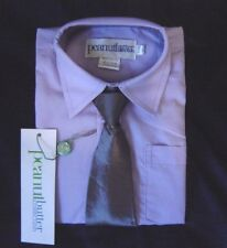 NEW BOY FORMAL SHIRT SET Heather w/Gray Color Tie Sz 8 Wedding/Party/Event