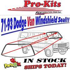 1971-1993 Dodge Van B100 B150 B200 B250 B300 B350 Windshield Weatherstrip Seal