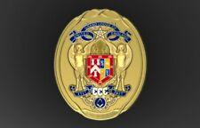 Tercentenary Master's Collar Ornament, Silver Gilt, New, Uk made