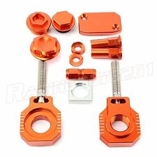 MX  BLING KIT KTM SX SXF 125 200 300 450 500 505 EXC-F 250 350 400 530 ORANGE