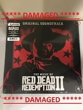 Red Dead Redemption II 2 Vinyl Record Soundtrack 2 LP Red *COSMETIC DAMAGED*
