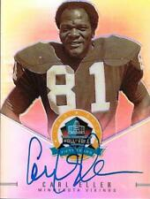 CARL ELLER SIGNED PANINI SPECTRA HALL OF FAME CARD~PRO FOOTBALL HOF AUTO~VIKINGS