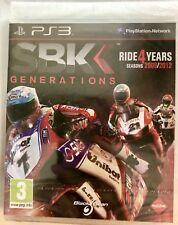 SBK Generations- Bike Racing(Ride 4 Yrs 2009/2012) **NEW Factory Sealed** (PS3)