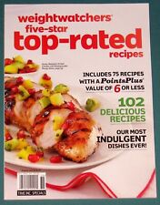 WEIGHT WATCHERS FIVE-STAR TOP-RATED RECIPES – SUMMER 2013