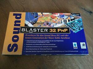 Sound Blaster 32 PNP, New, Sealed