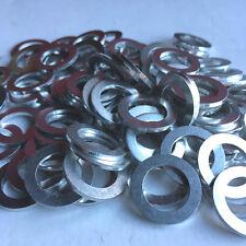 100 x Aluminium Sump Plug Washers - 14x22x2 - Mitsubishi