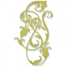 NEW Sizzix Thinlits 661061 Exquisite Flourish 1x flower & leaf metal cutting die