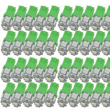100X Green T10 5050 LED Bulbs 5SMD Car Side Wedge Tail Light Interior Plate Lamp