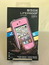 NEW! LifeProof water and dirt proof phone case for Apple iPhone 4 & 4s - Pink