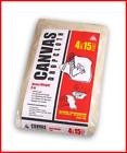Trimaco 58908 8 oz Premium Contractor Grade Heavyweight Canvas Drop Cloth, 4' X