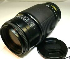 Sigma 75-300mm f4.5-5.6 Auto focus lens for Minolta AF mount A SLR (w/ issues)