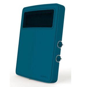 chauffage soufflant 2000w bleu - supra