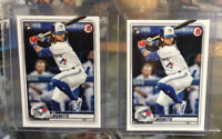 2020 Bowman Baseball BO BICHETTE Rookie RC #52 Blue Jays (2) Card LOT QTY
