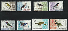 Samoa SC265-270&274A&B Birds of Western Samoa (short set) 1967&1969 MNH