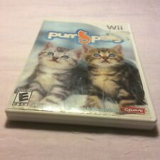 Purr Pals Nintendo Wii Game Case No Manual Very Good Free Shipping