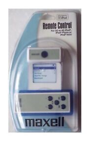 Maxell Remote Control and Receiver for 3G or 4G iPod, iPod Photo or iPod mini