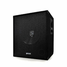 "Skytec Speaker Active Powered Subwoofer Large Bass Sub DJ PA Disco 15"" 600w Amp"