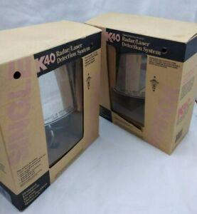 NEW K40 Electronics Radar/Laser Detection System W/ Matching Mirror / Chrome H-D