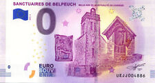 19 DONZENAC Sanctuaires de Belpeuch, 2018, Billet 0 € Souvenir