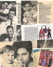 Full House Olsen Twins John Stamos clipping original magazine photo lot S6768