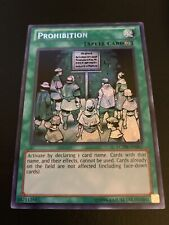 Prohibition - LCYW Secret - NM - Yugioh Unlimited edition