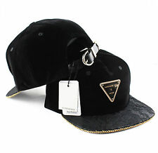 Hater Velvet Lace Gold Chain Snapback Hat cap 5 6 panel NEW