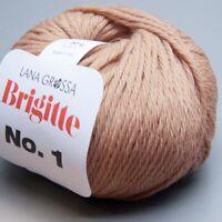 Lana Grossa Brigitte No. 1 - 008 / 50g Wolle (13.90 EUR pro 100 g)