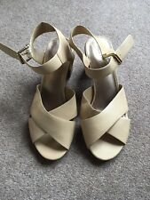M&S Ladies Leather Sandals Size 8