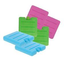 Set di 2 Mini Congelatore Blocchi, Verde, Arancione, Blu o Rosa