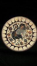 Griechischer Wandteller Greek Wallplate Corinthian Period 550 B.C.Pelican 14,5cm