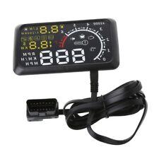 Car HUD Head Up Display 5.5 inch OBD II Speeding Warning System Fuel Consumption