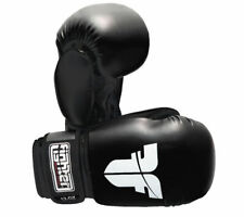 Fighter's Boxing Training Sparring Gloves, Black