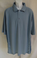 New NWT Rivers End Mens Size 3XL Short Sleeve Blue Polo Shirt UPF 30+ Cool & Dry