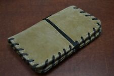 BROWN HANDMADE LEATHER TOBACCO PIPE POUCH BAG WALLET #T-2356F