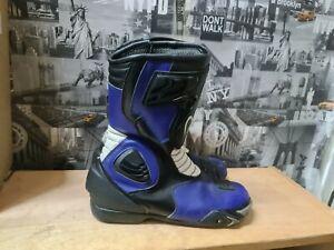 BLACK Motorbike Motorcycle Waterproof  Boots Size UK 11 EU 45