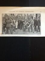 L3-1 Ephemera 1900 Picture German University Duelling Students Face Off