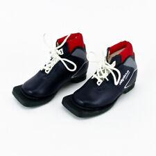 NEW Alpina Junior Cross Country Ski Boots Size 17.0 Mondo 3 pin 75 mm