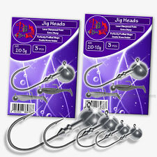 VARIOUS SIZES DINSMORES SYNDICATE SEMI BARBED TREBLE FISHING HOOKS TWO PACKS