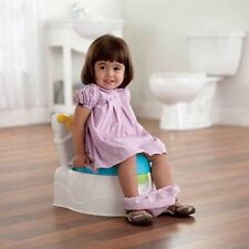 Learn To Flush Fisher-Price Baby Potty Trainer Toilet Chair Seat w/ Fun Sounds