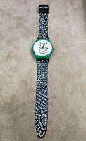 Swatch Coffee Cup Bar AG 1992 Swatch Watch  RARE SWISS Wall Clock Pop culture