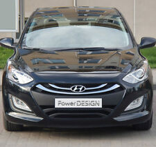 Eyebrows for HYUNDAI I30 II   2011+  headlight eyelids lids ABS Plastic