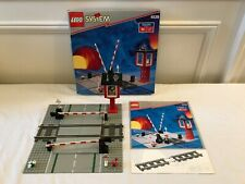 VINTAGE LEGO Train Manual Level Crossing 4539 9V COMPLETE w/ BOX & INSTRUCTIONS